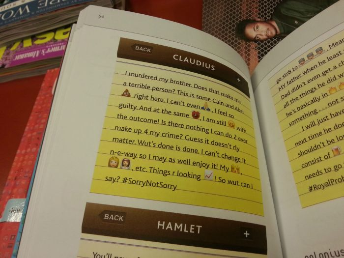 Classic Shakespeare Novels Translated For The Youth Of Today (5 pics)
