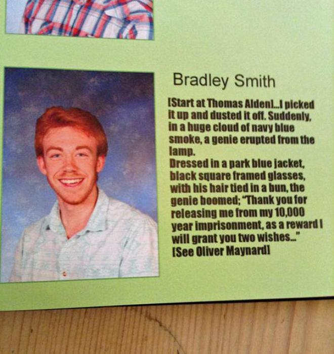 These Kids Teamed Up To Pull An Elaborate Yearbook Prank (7 pics)