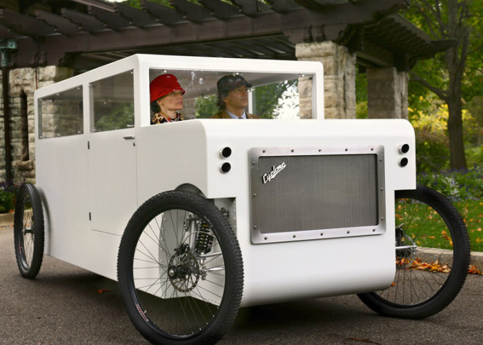 This Is What Happens When You Combine A Car With A Bike (9 pics)