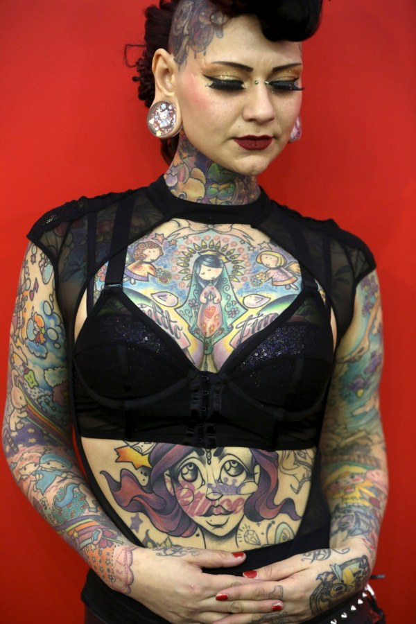 Amazing Art From The Great British Tattoo Show (14 pics)