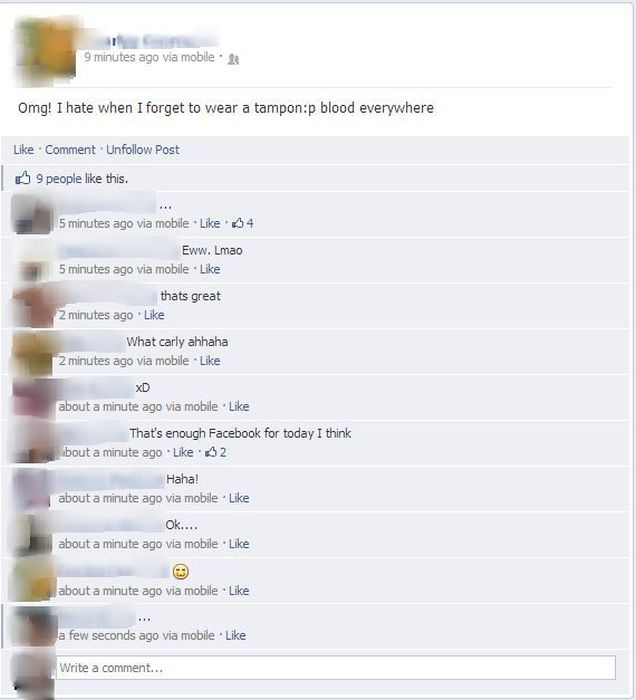 People Who Shared Too Much Information On Social Media (25 pics)