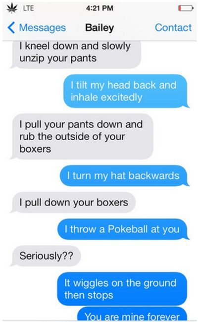 Sexts That Have Major Plot Twists At The End (9 pics)