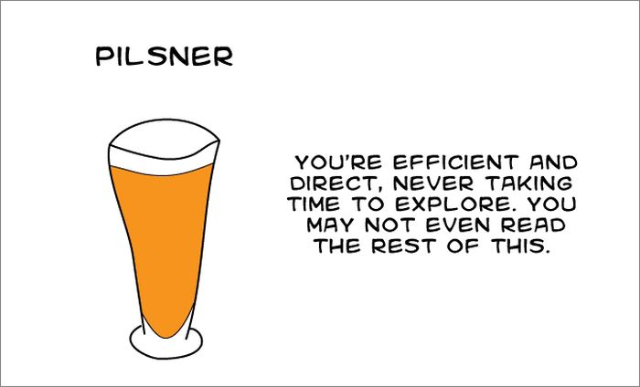 What Your Favorite Beer Says About You (15 pics)
