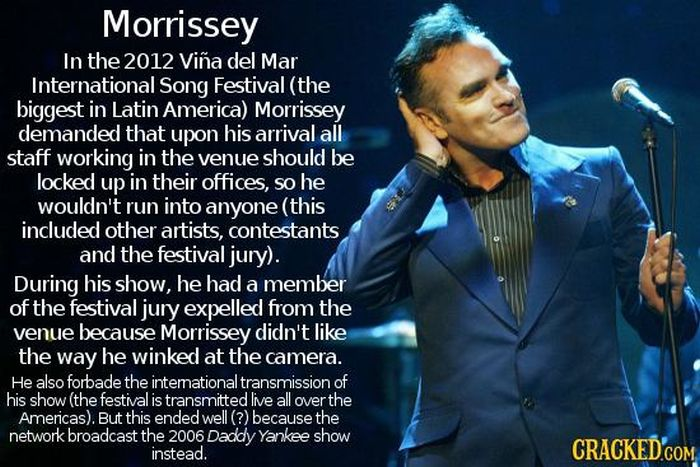 Insane And Bizarre Demands Celebrities Have Made Behind The Scenes (19 pics)