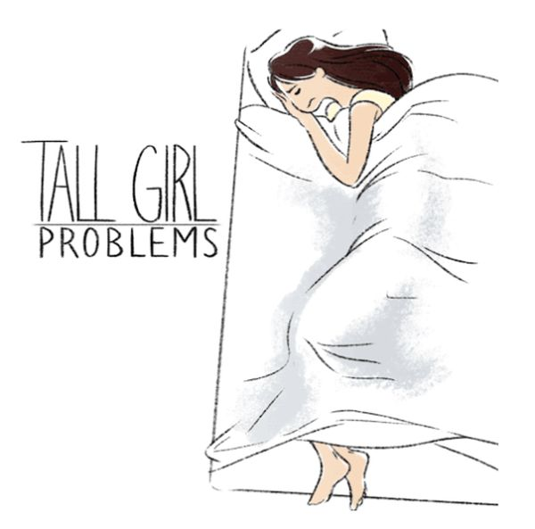 Problems Only Tall Girls Will Understand (7 gifs)