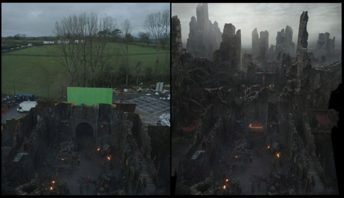 How Matte Paintings Bring Game Of Thrones To Life (10 pics)