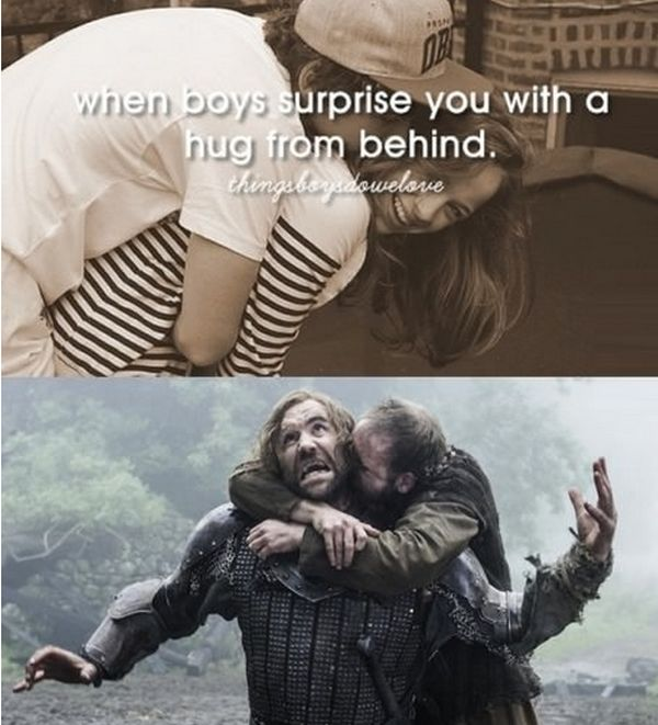 "Game Of Thrones Gets The ""Just Girly Things"" Treatment (10 pics)"