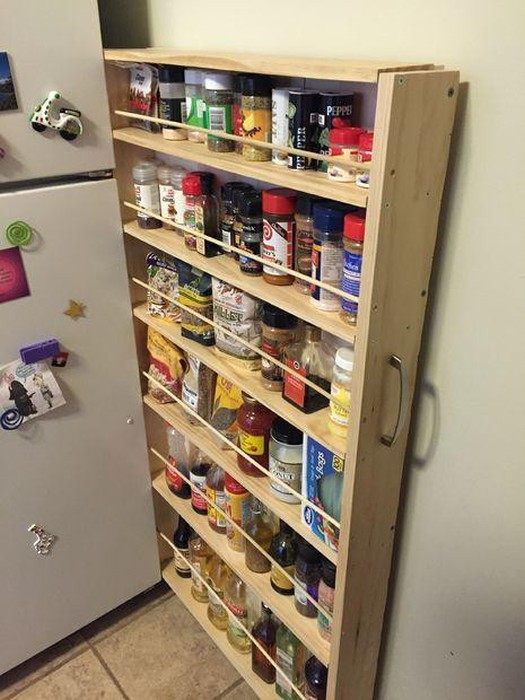 This Hidden Pantry Is Genius (14 pics)
