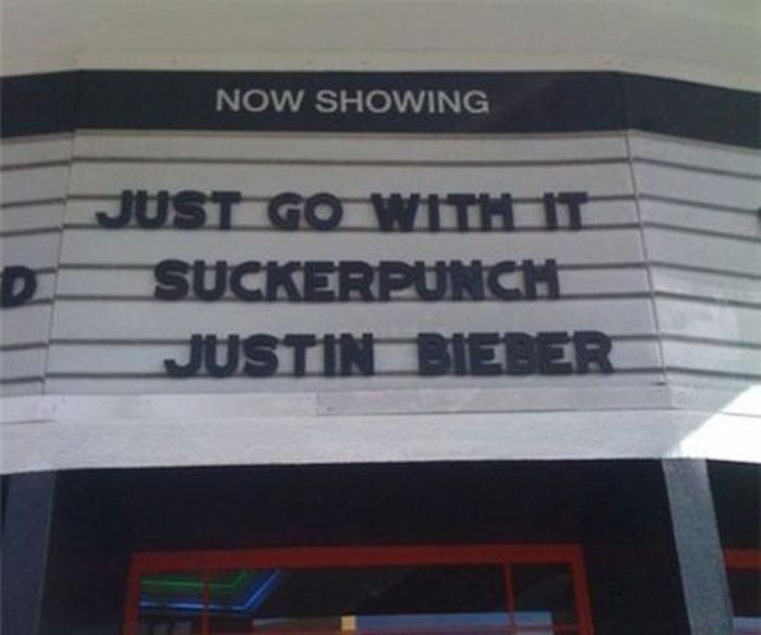 Those Awesome Moments When Movie Theaters Are Accidentally Hilarious (18 pics)
