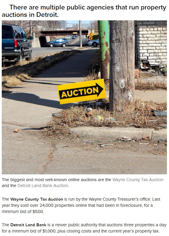 In Detroit You Can Buy A House For $500 (16 pics)