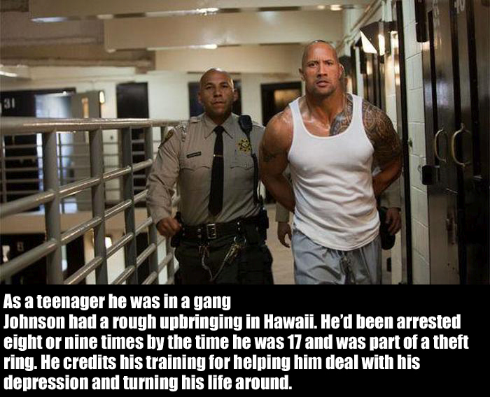 Cool Facts About The People's Champion Dwayne 'The Rock' Johnson (12 pics)