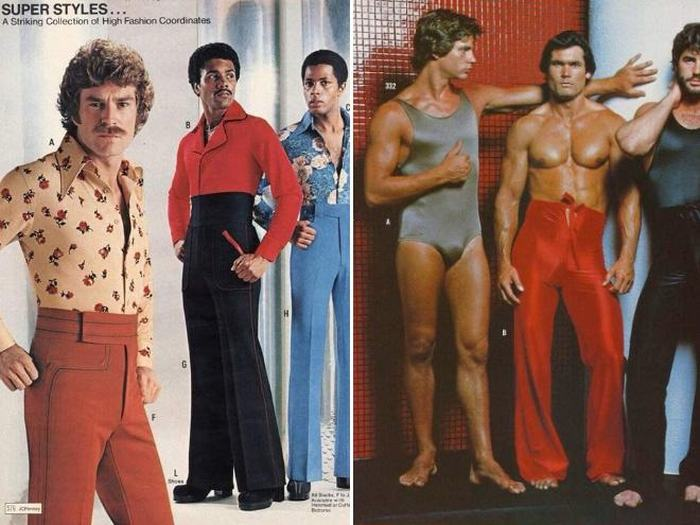 These Old Men's Fashion Ads Prove That The 70s Were A Weird Time (18 pics)