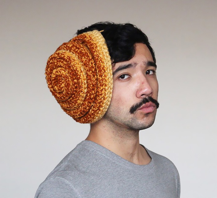 Phil Ferguson Crochets Delicious Looking Food Hats (16 pics)