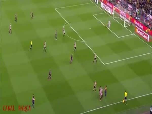 Goal by Messi