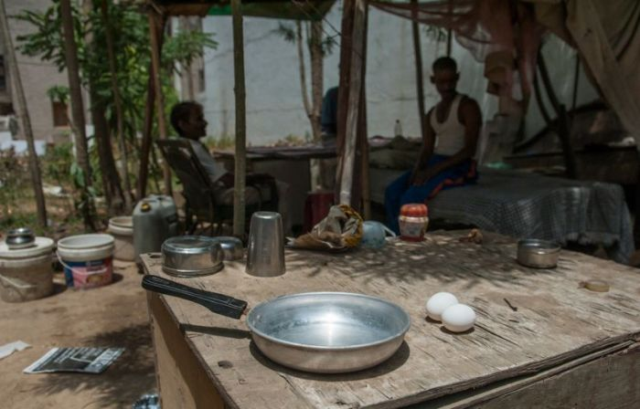 The Heat Is So Extreme In India You Can Cook Without Fire (5 pics)