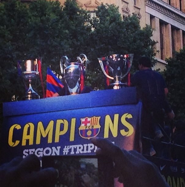 FC Barcelona Wins the Champions League (32 pics)