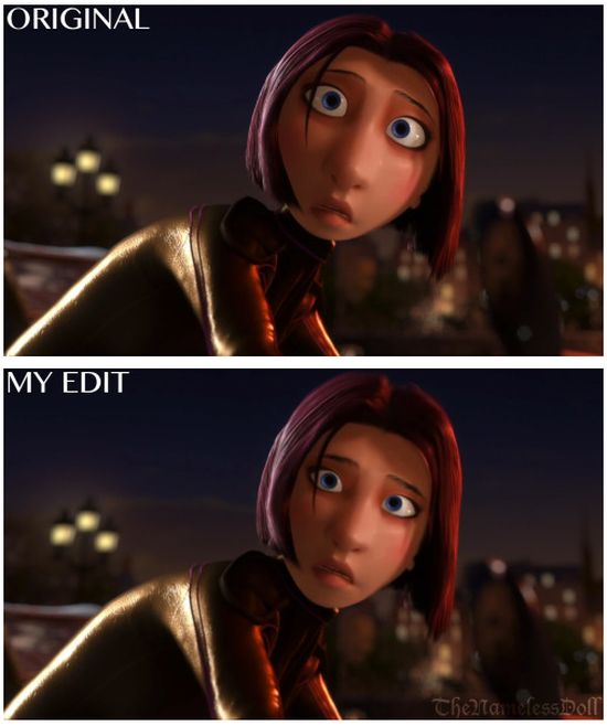 Tumblr User Gives Pixar Characters Normal Faces (13 pics)