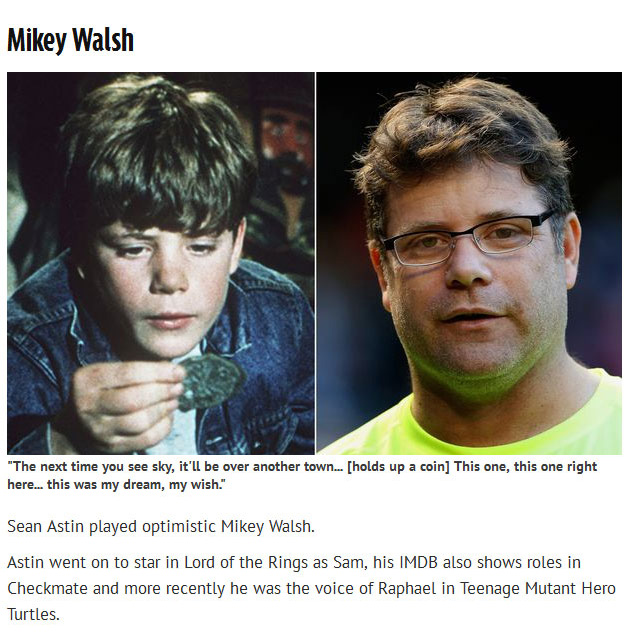Find Out What The Cast Of The Goonies Is Up To Now (7 pics)
