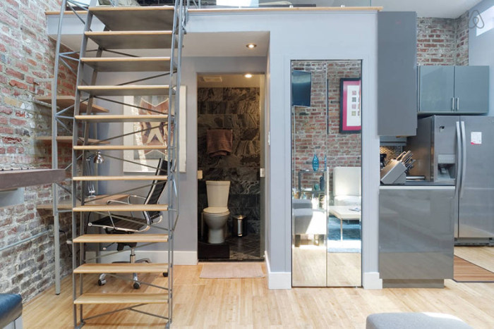 He Spent $50,000 And Turned A Storage Unit Into The Ultimate Loft Apartment (22 pics)