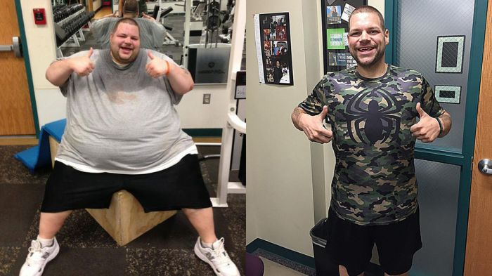 Man Loses Over 400 Pounds Using Taylor Swift Songs As Inspiration (6 pics)
