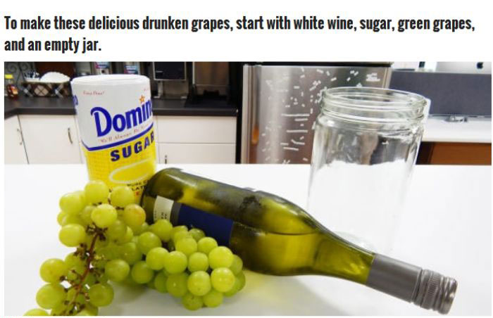 Frozen Drunken Grapes Are Easy To Make And They're A Perfect Treat (13 pics)