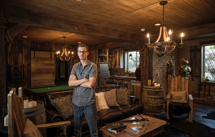This Elder Scrolls Fan Spent $50,000 To Remodel His Basement (9 pics)