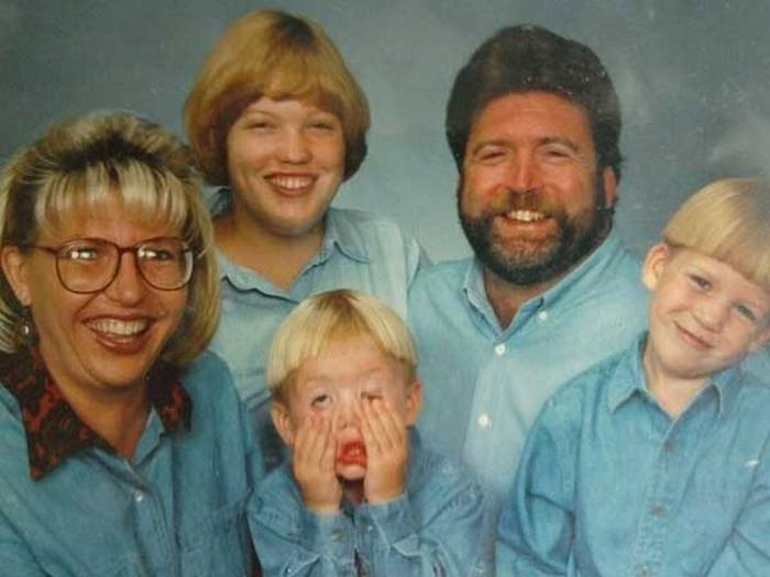 These Family Photos Are A Denim Overload (30 pics)