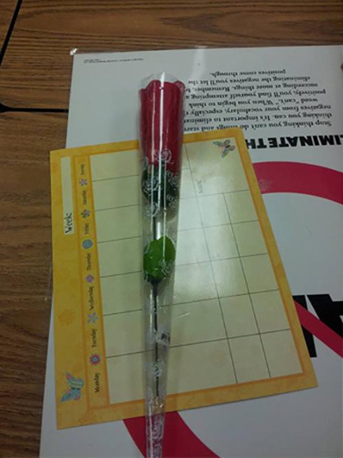 Student Teacher Gets A Secret Surprise (2 pics)