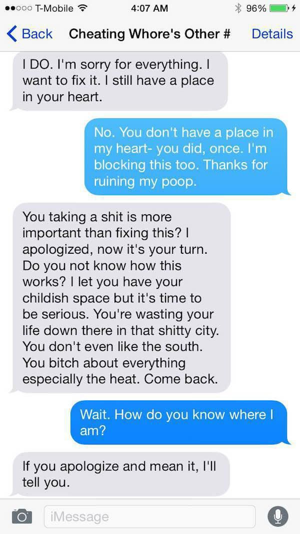 This Guy's Ex Fiance Is A Total Psycho (7 pics)
