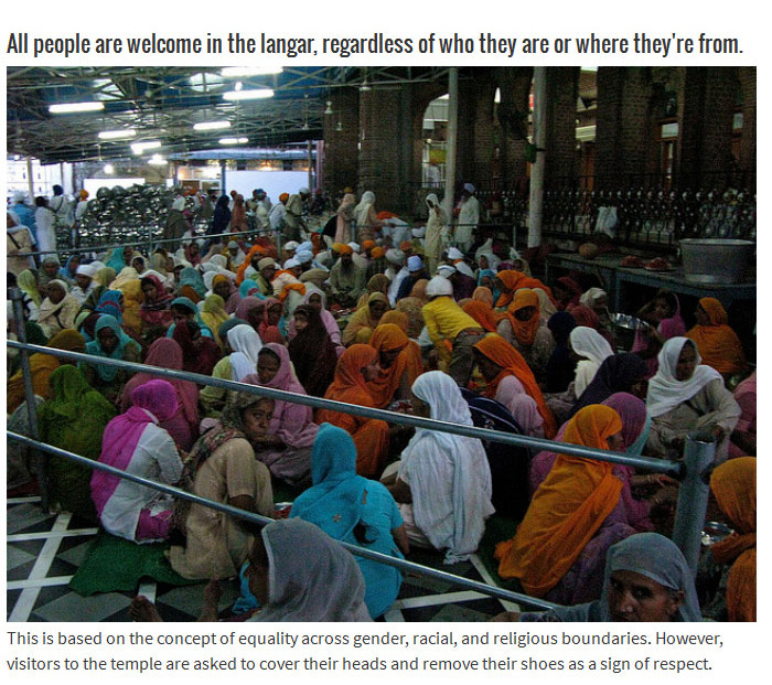The Golden Temple Has Been Feeding Thousands Of People For Centuries (7 pics)