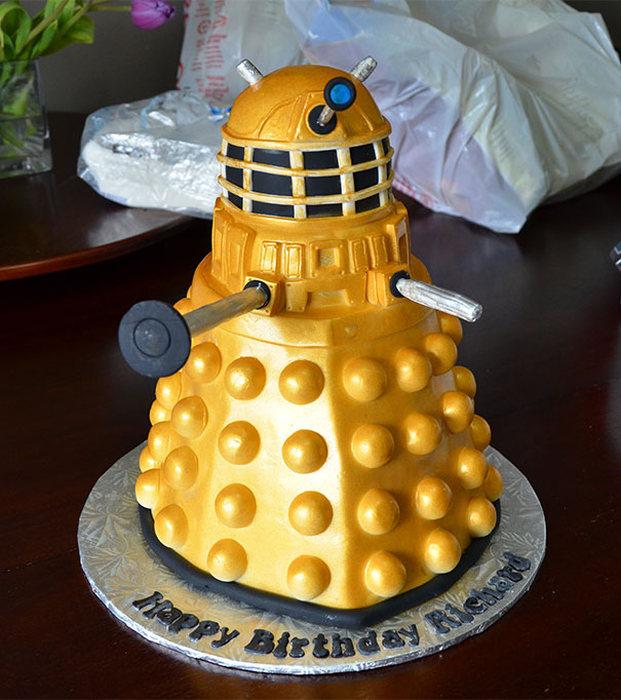 Tortas tan decoradas, que dan lastima comerlas