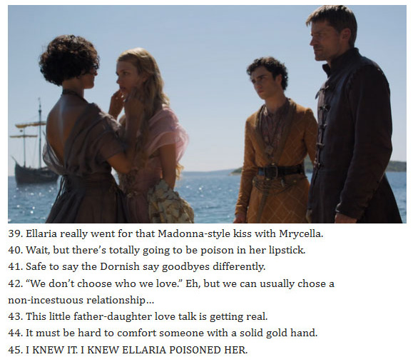 79 Thoughts We All Had During The Game Of Thrones Season 5 Finale (16 pics)