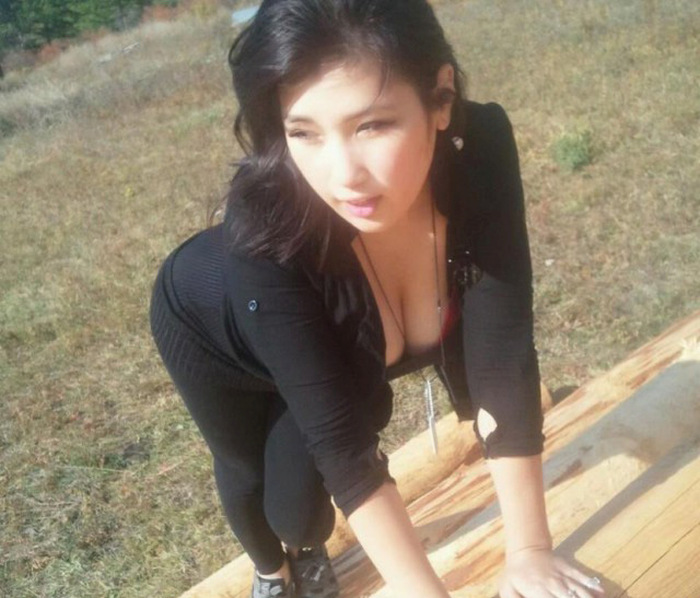 Join. All Mongolian lady pissing