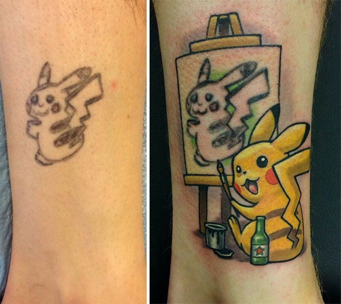 How To Turn Pikachu Into Pikasso (4 pics)