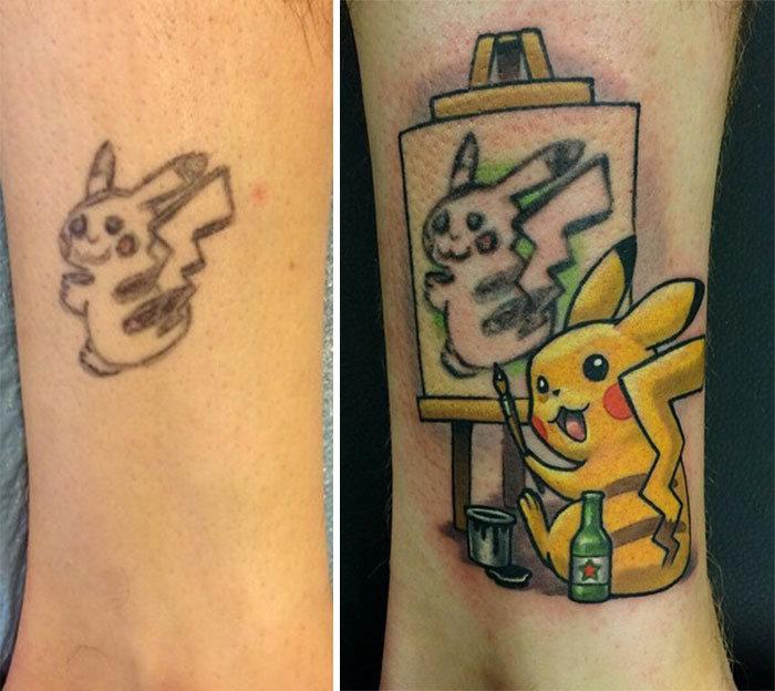 How To Turn Pikachu Into Pikasso (4 pics)