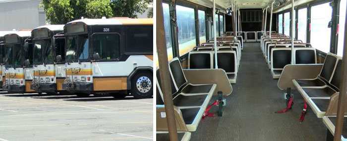 Hawaii Is Going To Convert Old Buses Into Homeless Shelters (4 pics)