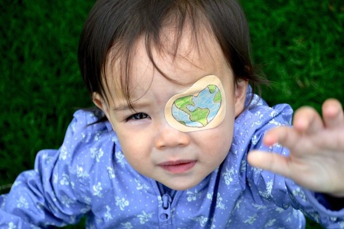 Their Daughter Had To Wear An Eye Patch So They Had A Little Fun With It (20 pics)