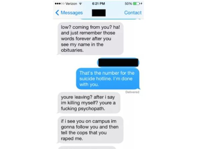 When You Message a New Girl Just Be Careful She Isn't Bonkers (10 pics)
