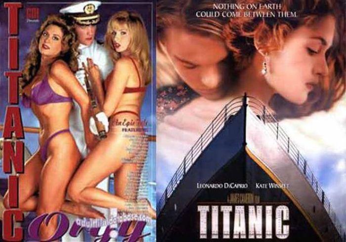 Mainstream Movies and TV Shows Get a Porn Film Makeover (24 pics)