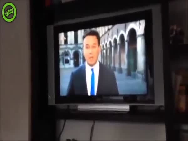 Guy Makes It To Live TV