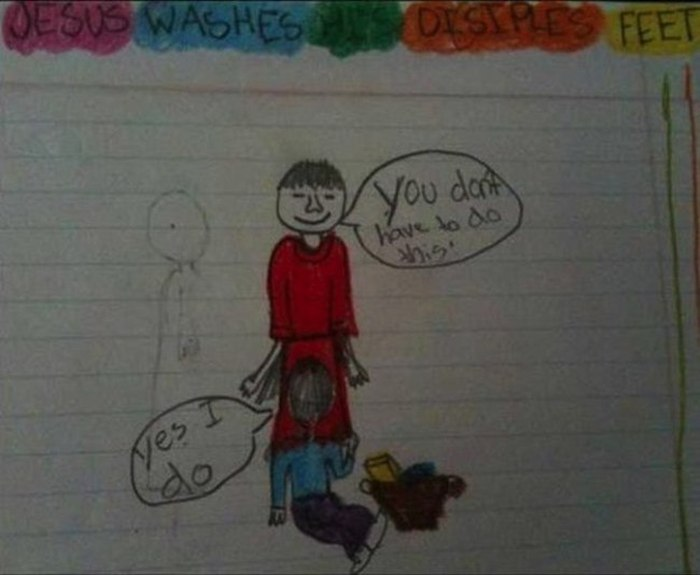 Innocent Kid's Drawings That Adults Will See Differently (10 pics)