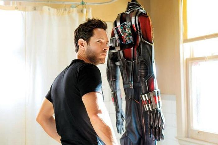 Paul Rudd's Son Isn't Very Excited That He's Playing Ant-Man (7 pics)
