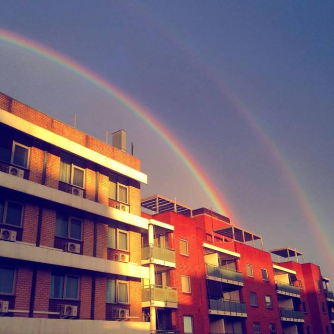 Sydney Residents Enjoy Rare Double Rainbow Shining Above The City (17 pics)