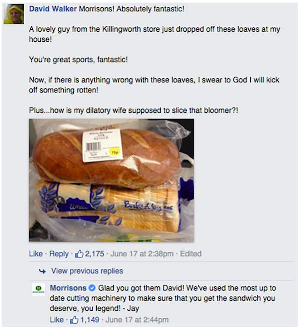 Company Has Awesome Response To Man's Complaints About Crooked Bread (6 pics)