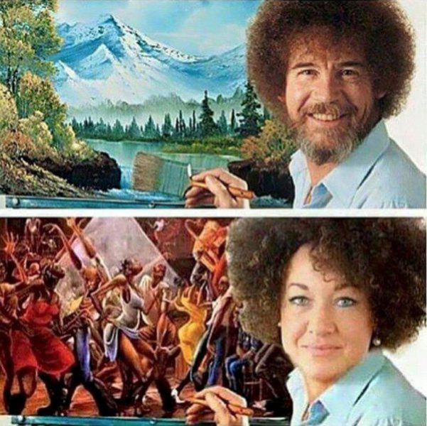 The Internet Reacts To Rachel Dolezal Pretending To Be Black (23 pics)