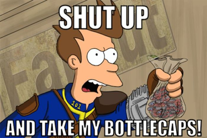 Dedicated Fan Wants To Use 7 Years Worth of Bottle Caps To Pay For Fallout 4 (5 pics)