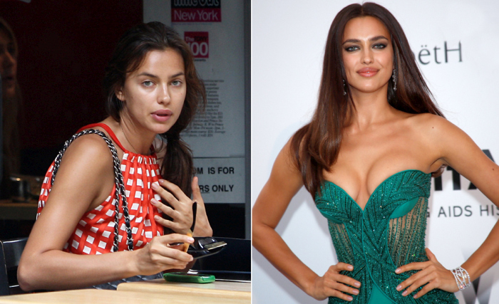See What The World's Hottest Supermodels Look Like Without Makeup (14 pics)