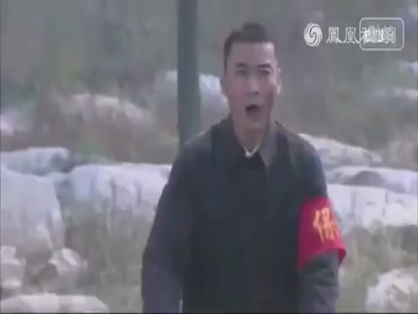 Chinese Movie Shows Bike Kung Fu