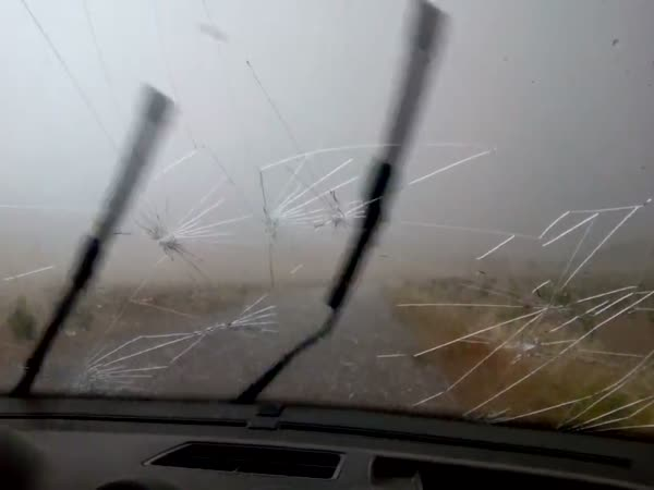 Hail Hit The Car