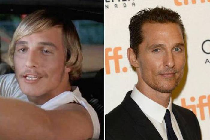 The Cast Of Dazed And Confused Back In The Day And Today (16 pics)